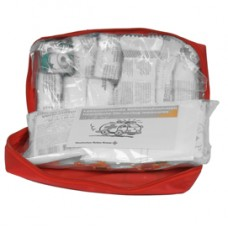Astuccio di pronto soccorso per auto Soft Bag DIN 13164B - 25x15x7,5 cm - rosso - PVS