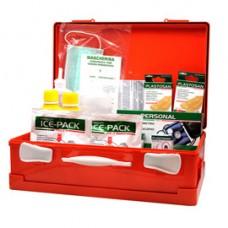Valigetta di pronto soccorso Medic 2 - 39,5x27x13,5 cm - oltre 3 persone - arancio - PVS