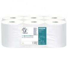 Asciugamani in rotolo Autocut Dissolve Tech - goffratura micro - 2 veli - 20 gr -19,8 cm x 140 mt - diametro 18,5 cm - Papernet