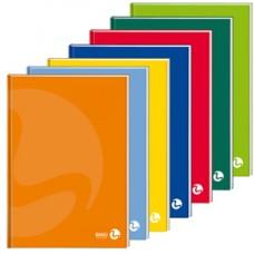 Maxiquaderno Color 80 - A4 - 1 rigo - 96 fogli - 80gr - cartonato - BM