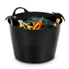 Cestone Flexy - 40 lt - diametro 48 cm - altezza 37,5 cm - nero - CEP