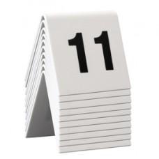 Numeri per tavoli - set da 11 a 20 - Securit