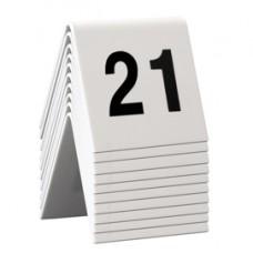 Numeri per tavoli - set da 21 a 30 - Securit