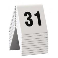 Numeri per tavoli - set da 31 a 40 - Securit