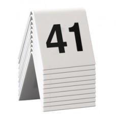 Numeri per tavoli - set da 41 a 50 - Securit