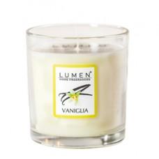 Candela in bicchiere - vaniglia - Lumen