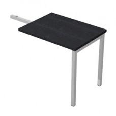 Allungo Easy Plus - DX/SX - 119x60x72,5 cm - nero venato - Artexport