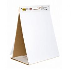 Blocco/Lavagna da tavolo Super Sticky autoportante - 20 fogli - 58,4x50,8 cm - bianco - Post-it