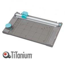 Taglierina a lama rotante 13939 3 in 1 - 65x256x425 mm - 330 mm (A4) - taglio lineare - capacitA' taglio 10 fg - grigio - Titanium