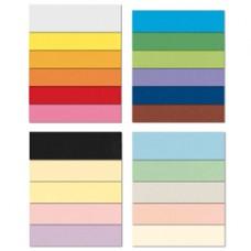 Cartoncino Bristol Color - 70 x 100 cm - 200 gr - arancio 56 - Favini - conf. 10 pezzi