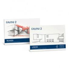 Album Favini 2 - 24x33cm - 110gr - 20 fogli - liscio - Favini