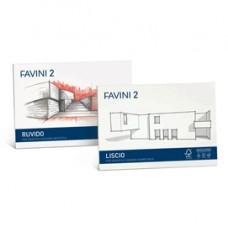 Album Favini 2 - 24x33cm - 110gr - 20 fogli - liscio squadrato - Favini