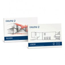 Album Favini 2 - 24x33cm - 110gr - 20 fogli - ruvido - Favini