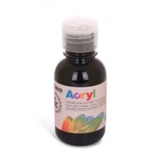 Colori Acryl - 125ml - nero - Primo