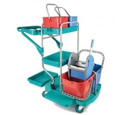 Carrello professionale Evolution - 67,5x119x115 cm - con ruote pivottanti - In Factory