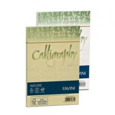 Busta Calligraphy Nature - 120 x 180 mm - 100 gr - giallo agrumi - Favini - conf. 25 pezzi