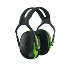Cuffia protettiva Peltor X1A - SNR 27 dB - verde/nero - 3M