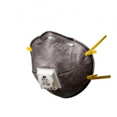 Mascherina 9914 - con carboni attivi - monouso - filtro FFP1 - 3M - conf. 10 pezzi