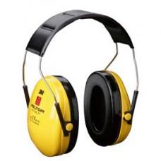Cuffia protettiva Peltor Optime I - SNR 27 dB - giallo - 3M