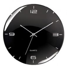 Orologio da parete Eleganta - diametro 29,3 cm - nero - Cep