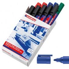 Marcatore a base d'acqua 30  - punta tonda 1,5 -3,0 mm - colori assortiti - Edding - scatola 10 pezzi