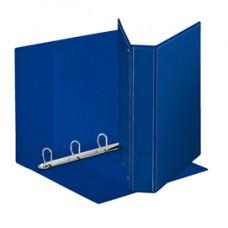 Raccoglitore personalizzabile Display - 4 anelli a D 40 mm - dorso 5,9 cm - 22x30 cm - blu - Esselte