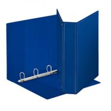 Raccoglitore personalizzabile Display - 4 anelli a D 50 mm - dorso 7,1 cm - 22x30 cm - blu - Esselte