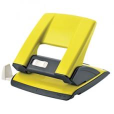 Perforatore - passo 8 cm - massimo 20 fogli - 2 fori - giallo - Kartia