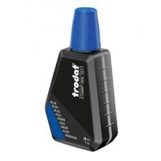 Inchiostro 7011 per timbro in gomma - 28 ml - blu - Trodat