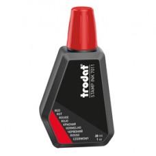 Inchiostro 7011 per timbro in gomma - 28 ml - rosso - Trodat