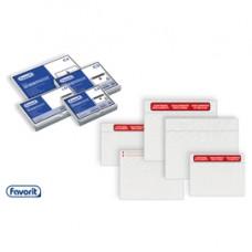 Busta adesiva Speedy Doc - con stampa CONTIENE DOCUMENTI - formato C5 (230x165 mm) - Favorit - conf. 1000 pezzi