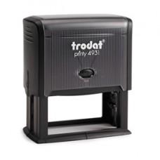 Timbro Original Printy 4931 - autoinchiostrante - personalizzabile - 70x30 mm - 7 righe - Trodat