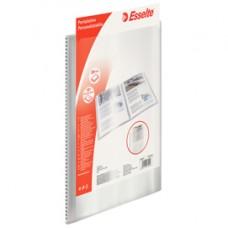 Portalistini personalizzabile - 22x30 cm - 40 buste antiriflesso - trasparente - Esselte