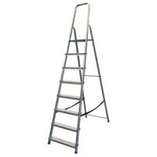 Scala domestica Stella Basic - 8 gradini - alluminio - Marchetti