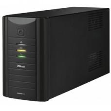 Gruppo di continuitA' Oxxtron 1000VA UPS + 2 prese schuko aggiuntive da 220 V - Trust