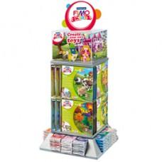 Panetti Fimo Kids (42 gr cad) + 24 set ''FormPlay'' - colori assortiti - Staedtler