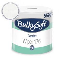 Bobina asciugatutto Comfort - 2 veli - 24 cm x 176 mt - 18 gr - diametro 25 cm - microgoffrata - bianco - BulkySoft