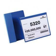 Buste identificative con aletta pieghevole - formato A5 orizzontale (210x148 mm) - Durable - conf. 50 pezzi