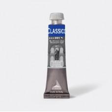 Colore a olio - extrafine - 20 ml - blu oltremare chiaro - Maimeri