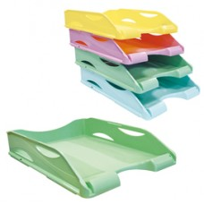 Portacorrispondenza Keep Colour Pastel - infrangibile - 23x32 cm - verde - Arda