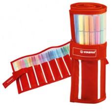 Pennarelli Pen 68 - colori assortiti - Stabilo - rollerset 30 pezzi