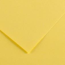 Foglio Colorline - 70x100 cm - 220 gr - giallo paglia - Canson
