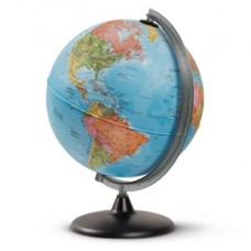 Globo geografico non Illuminato - altezza 42 cm - diametro 30 cm - Tecnodidattica