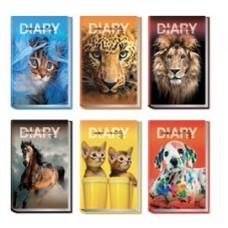 Diario Animal Friends - 12 mesi - 14,2 x 19,3 cm - Ri.Plast