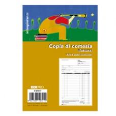 Blocco copia di di cortesia (fatt.elett.) cortesia (fatt.elett.) 33x3 autocop. - Edipro