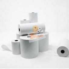 Rotolo per calcolatrici e stampanti - carta termica neutra BPA free - 80 mm x 80 mt - diametro esterno 77 mm - 55 gr - anima 12 mm - Rotomar - blister 10 pezzi