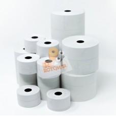 Rotolo per registratori di cassa - carta termica BPA free - 57,5 mm x 30 mt - diametro esterno 50 mm - 55 gr - anima 12 mm - Rotomar - blister 10 pezzi