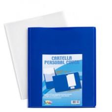 Cartella in PP Personal Cover - bianco - 24 x 32 cm - Iternet - conf. 5 pezzi