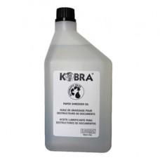 Olio per distruggidocumenti - Kobra - flacone 1 L