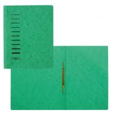 Cartella con pressino - cartone - A4 - verde - Pagna